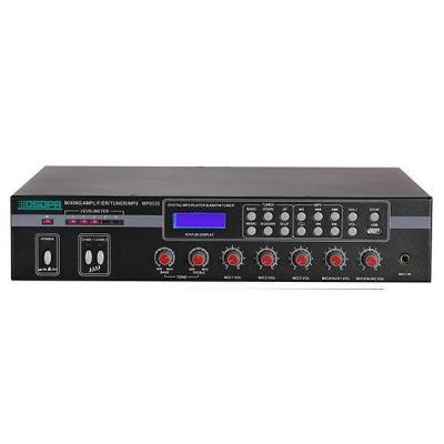 MP9035 5 Mic & 2 AUX Mixer Amplifier dengan USB & FM